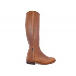 150TC - Caramel - Elegant Spanish Leather boots