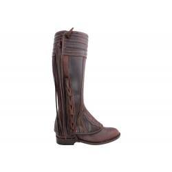 0220 Spanish Mini-Chaps in brown