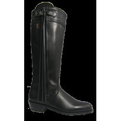 071 BN Elegant spanisch riding boots in black