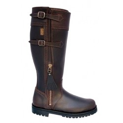 071H - Wider Spanish Leather Boots
