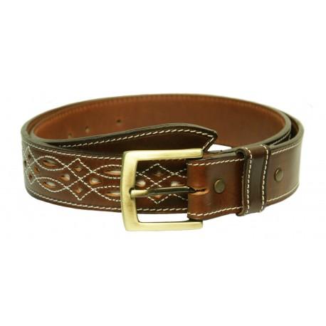 136 - Leather belt