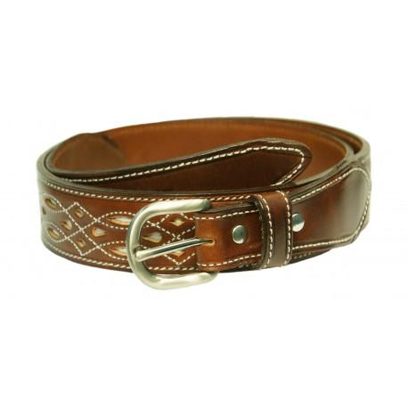 136S - Leather belt