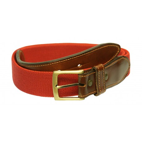 195 ROJO - Leather belt
