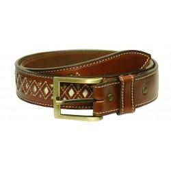 219 - Leather belt