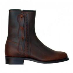 L8151 - Spanish short boots Arabia braided