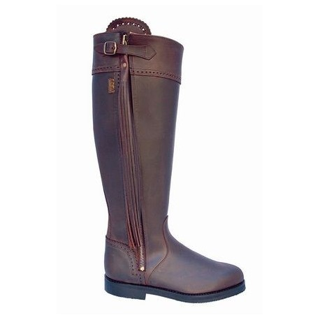 Elegant Leather Riding Boots