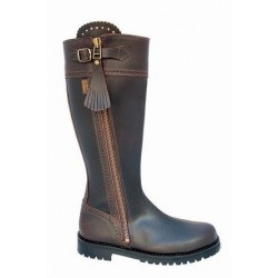 071E - Traditional Spanish leather boots