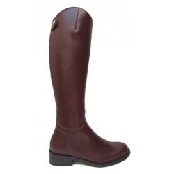 041CB - Spanish leather boots trimmed